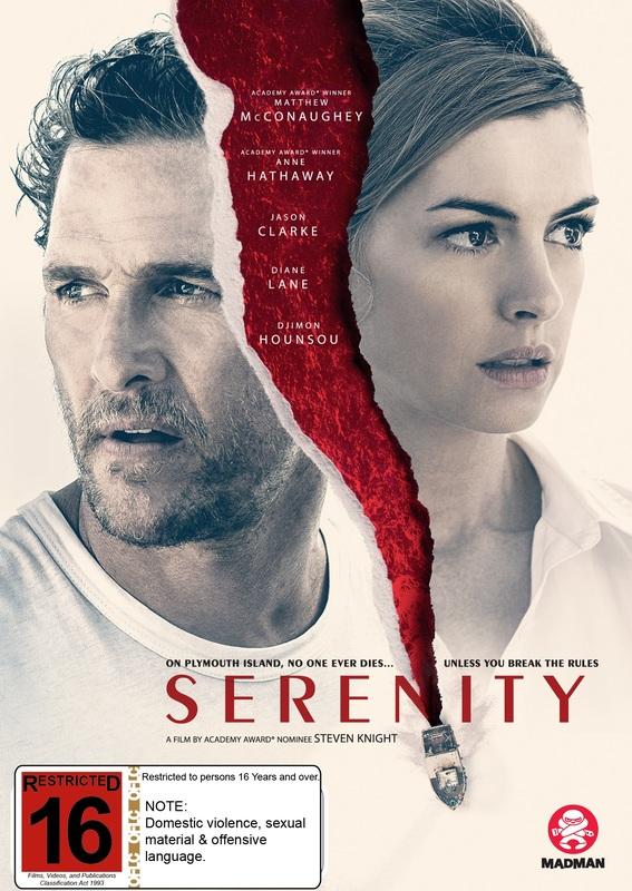 Serenity on DVD