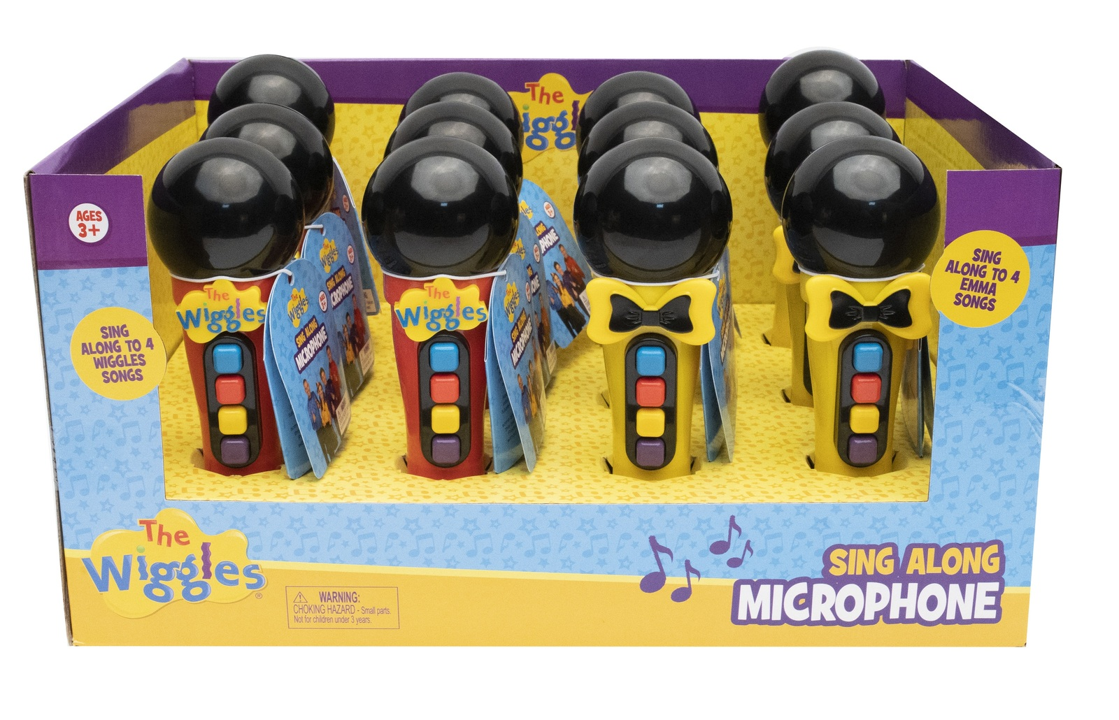 The Wiggles: Play Microphone - (Assorted Designs) image