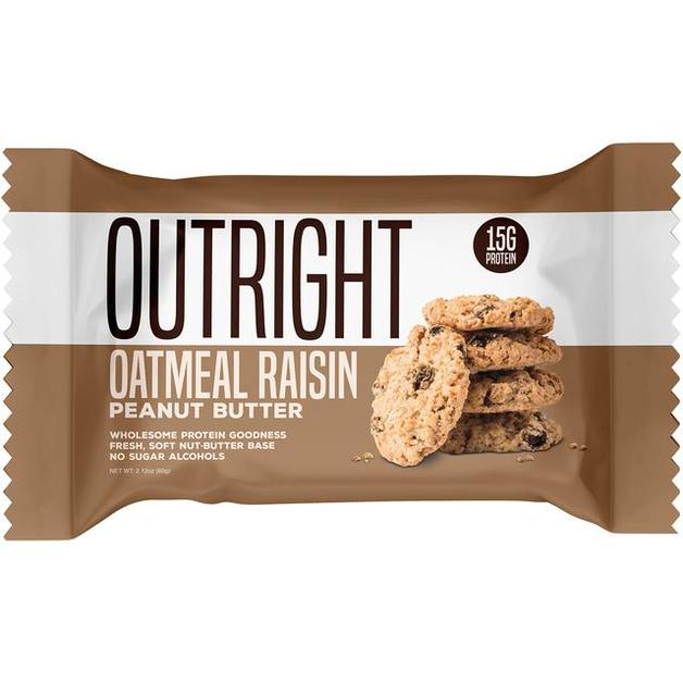 Outright Protein Bar - Oatmeal Raisin Peanut Butter (60g)
