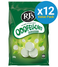 Oddfellows Spearmint 200g (12 Pack)