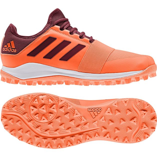 Adidas: Divox 1.9S Orange (2020) Hockey Shoes - US10.5