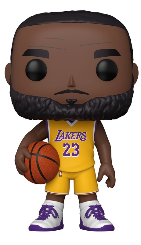"NBA: LeBron James (Yellow Jersey) - 10"" Super Sized Pop! Vinyl Figure"