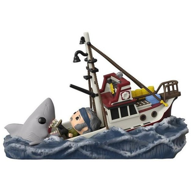 Jaws (Eating Boat) - Pop! Movie Moments Figure