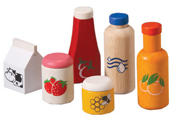 Plan Toys - Food & Beverage Set