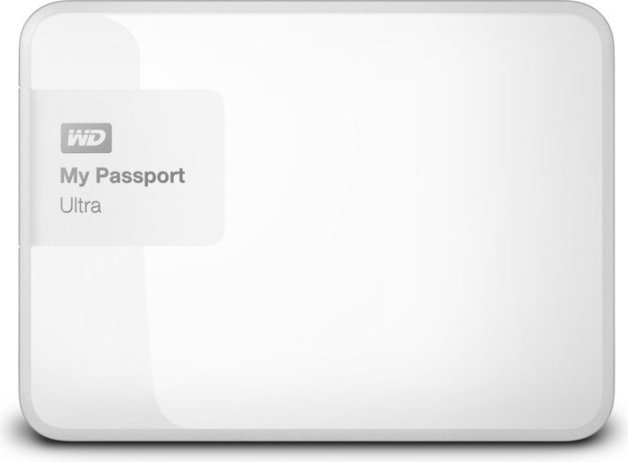 3TB WD My Passport Ultra - White | at Mighty Ape NZ