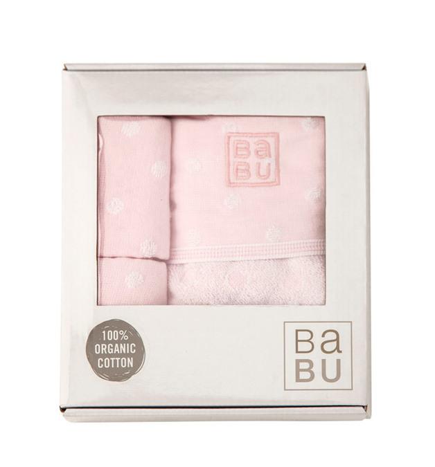 Babu: Bathing Gift Box - Pink