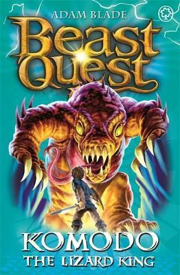 Beast Quest #31: Komodo the Lizard King (The World of Chaos) by Adam Blade image