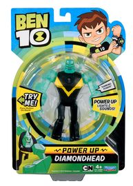Ben 10: Power Up Deluxe Figures - Diamondhead