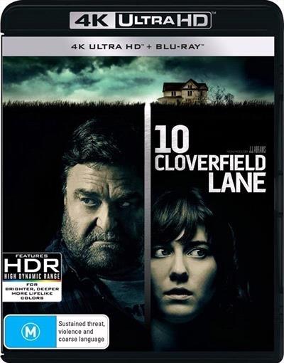 10 Cloverfield Lane (4K Blu-ray + Blu-ray) on UHD Blu-ray