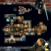 Star Wars: Imperial Assault - Jabba's Palace Skirmish Map
