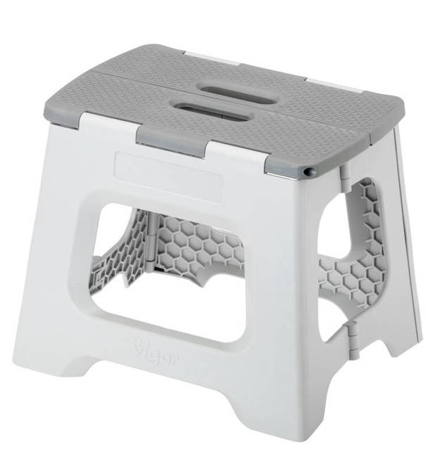 Foldable Stool 23cm Grey