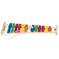15 Tone Natural Wood Xylophone
