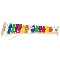 15 Tone Natural Wood Xylophone