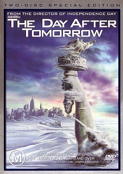The Day After Tomorrow (2 Disc Set) on DVD image