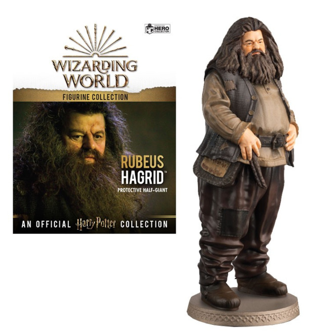 Harry Potter - Hagrid - 1:16 Figure & Magazine