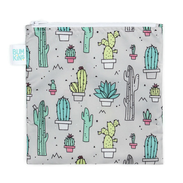 Bumkins: Large Snack Bag - Cacti
