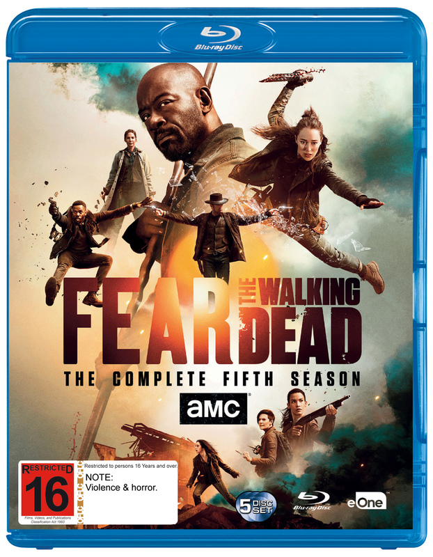 Fear the Walking Dead - The Complete Fifth Season on Blu-ray