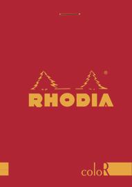 Rhodia color Bloc Pad - Poppy
