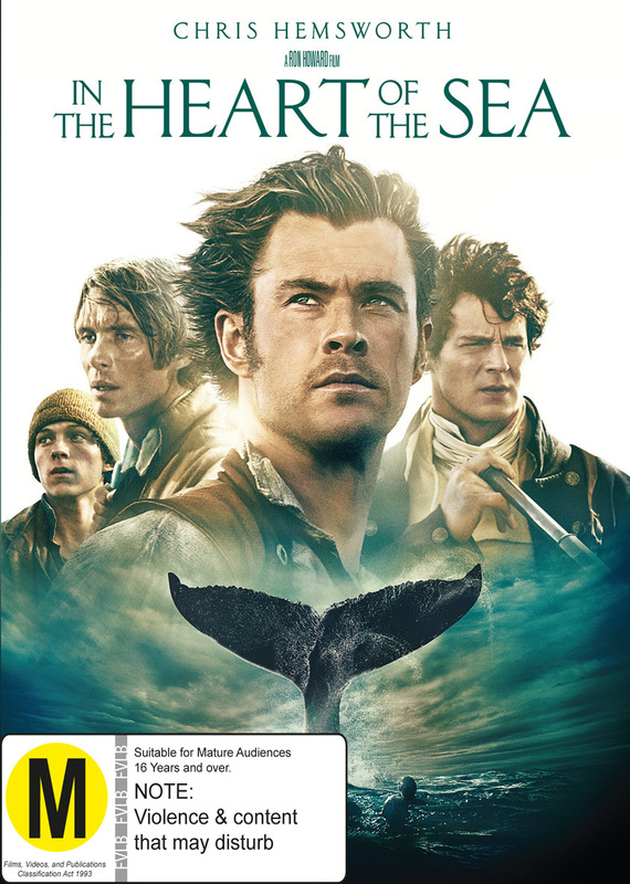 In The Heart of The Sea on DVD