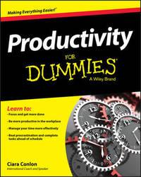 Productivity For Dummies by Ciara Conlon
