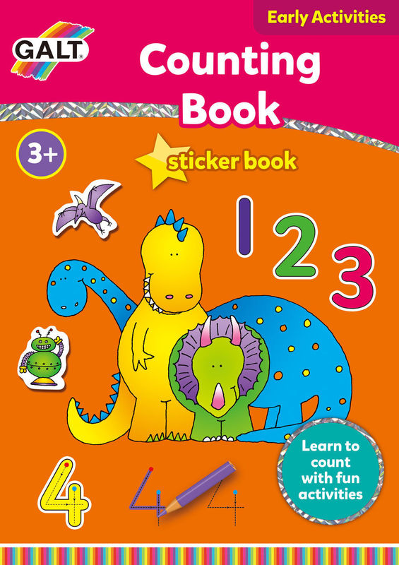 Counting Sticker Book - by Galt