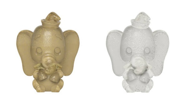 Disney: Dumbo (Gold & Silver) - Hikari XS Vinyl Figure 2-Pack
