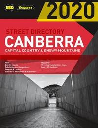 Canberra Capital Country & Snowy Mountains Street Directory 2020 24th ed by UBD / Gregory's