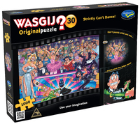 Wasgij: 1000 Piece Puzzle - Originals #30 (Strictly Can't Dance!) image