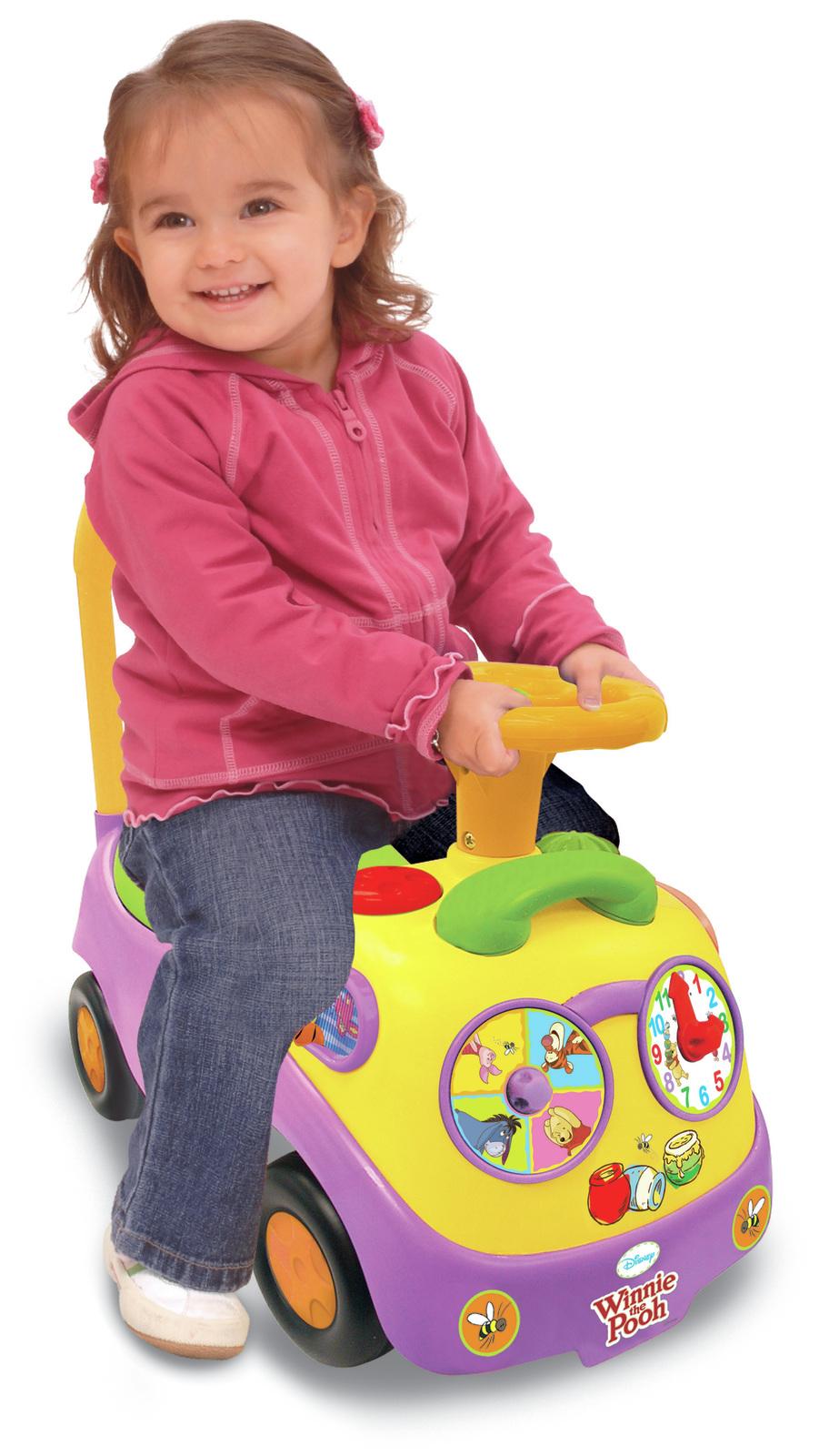Kiddieland: My First Ride-On - Winnie the Pooh image