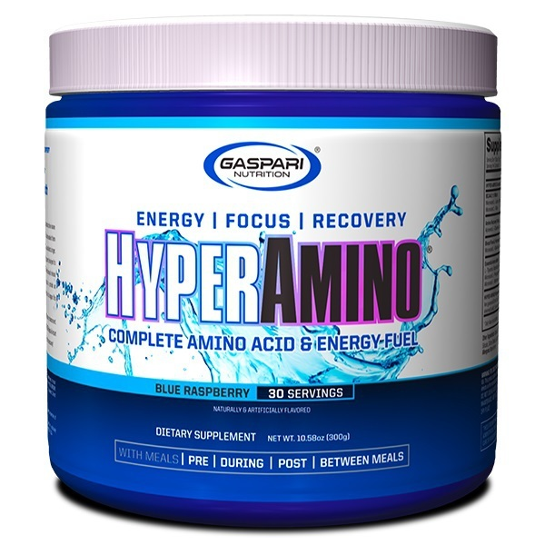 Gaspari: Hyper Amino - Blue Raspberry (30 Serve)