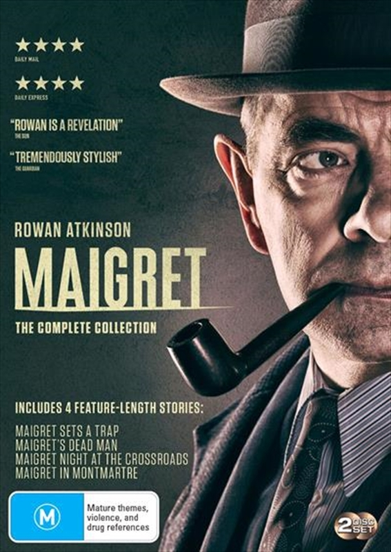 Maigret - Series 1-2 on DVD