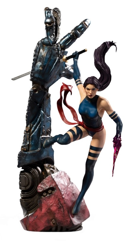 X-Men: Psylocke - Battle Diorama Statue