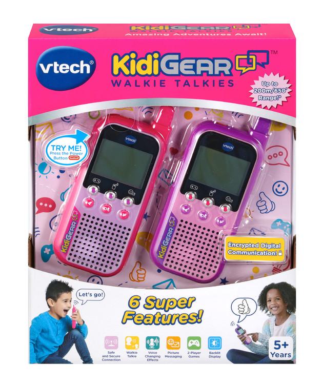 VTech: Kidigear Walkie Talkies - Pink