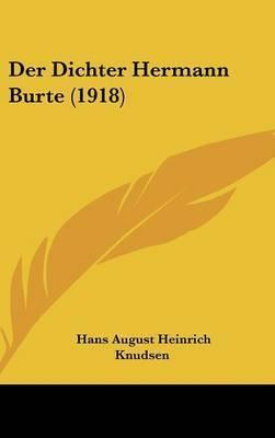 Der Dichter Hermann Burte (1918) by Hans August Heinrich Knudsen