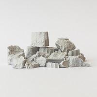 Secret Weapon: Masterclass Scenics - Broken Columns (Large)