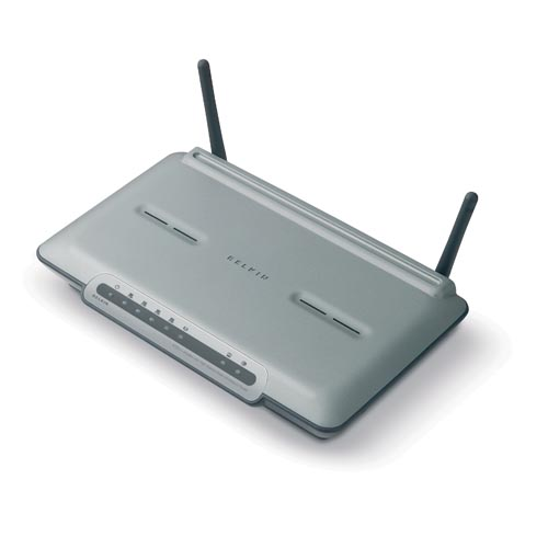 Belkin 802.11g Wireless DSL/Cable Gateway Router image