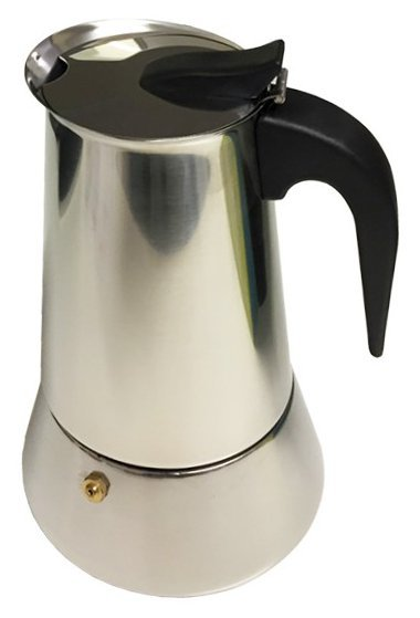 Casa Barista Roma Stainless Steel Espresso Maker - 4 Cup