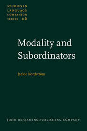 Modality and Subordinators by Jackie Nordstrom image