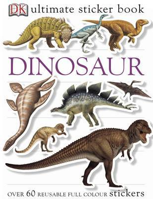 Dinosaur Ultimate Sticker Book by DK image