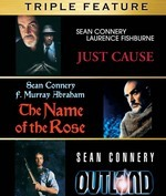Just Cause / Name Of The Rose / Outland - Triple Feature (3 Disc Set) on DVD