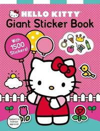 Hello Kitty: Giant Sticker Book (1500 stickers!) by Roger Priddy