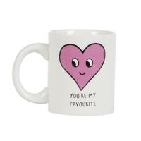 Patches And Pins Heart Mug