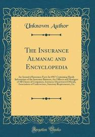 The Insurance Almanac and Encyclopedia by Unknown Author image