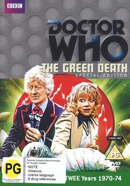 Doctor Who: The Green Death (Special Edition) on DVD