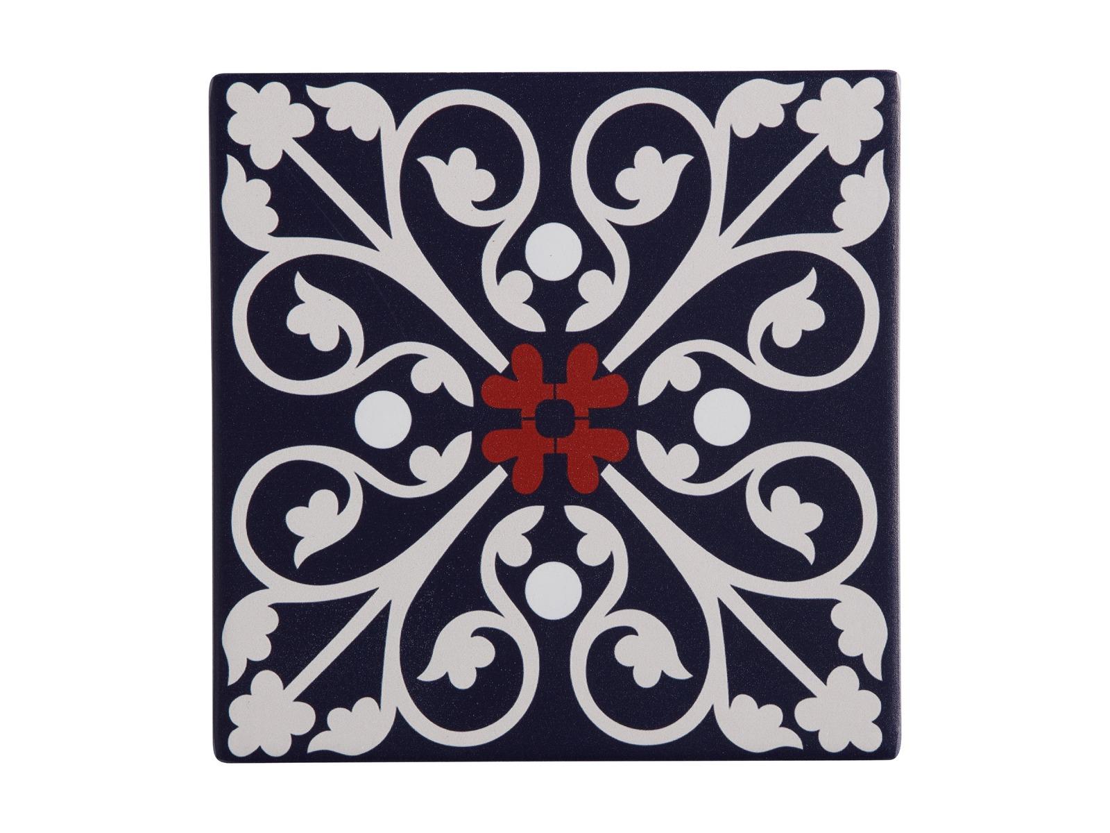 Maxwell & Williams: Medina Ceramic Square Tile Trivet - Fes (15cm) image