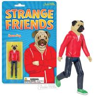 Strange Friends: Roscoe Pug - Action Figure