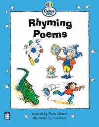 Rhyming Poems Genre Beginner Stage Poetry Book 3 by Fiona Waters image