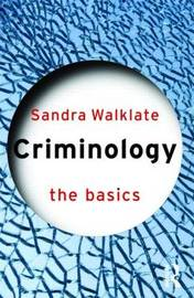 Criminology: The Basics by Sandra Walklate image