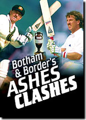 Botham And Border's Ashes Clashes on DVD