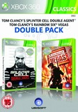 Rainbow Six Vegas & Splinter Cell Double Agent (Double pack) (Classic) for Xbox 360